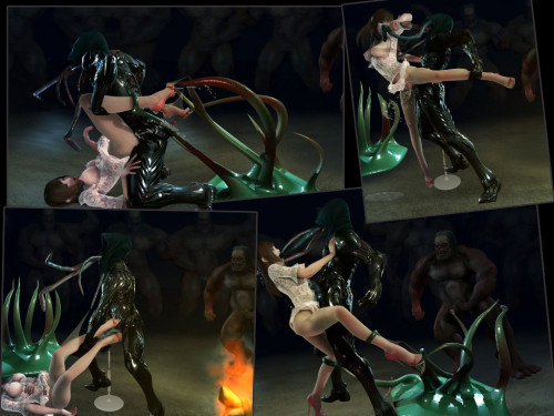 [3D FLASH] Poor Sakura Fight 2 3D Porno