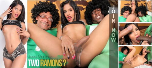 DOWNLOAD from FILESMONSTER: transsexual Jessi Martinez   Two Ramons
