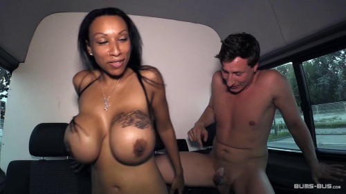 German bitch Ria Paradise getting fucked between her big tits 1080p