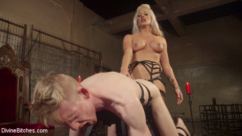 Bow Down & Worship the Newest Divine Bitch! Femdom and Strapon