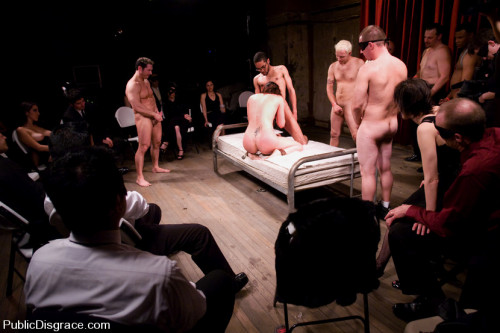 Classic archive shoot: member favorite! bobbi starr disgraced in the armory BDSM