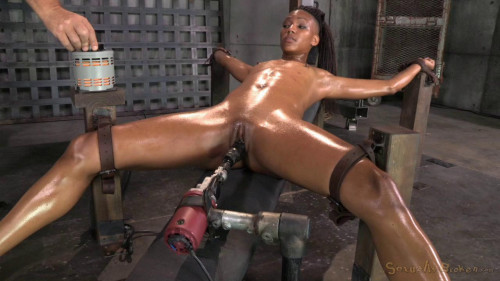 DOWNLOAD from FILESMONSTER: bdsm Brutally facefucked by 2 cocks!