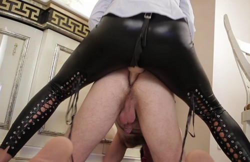 The Decadent Strapon Wife - I fuck my husband's ass hard Femdom and Strapon
