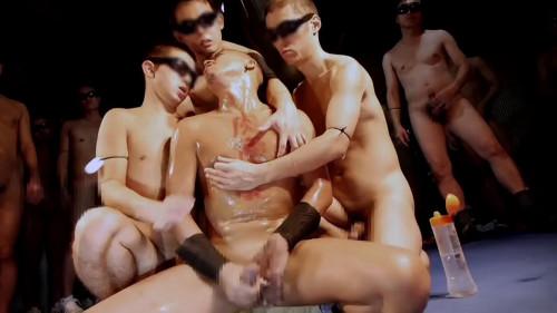 Ganbanged by vol.77 men Asian Gays
