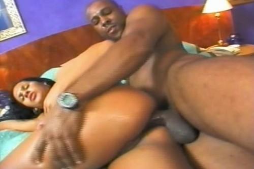 Probing that big ass Ebony