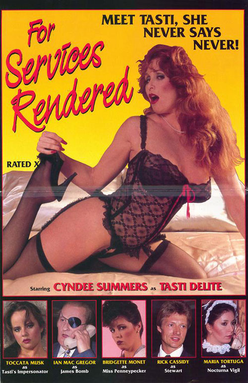For Services Rendered (1984) Vintage Porn