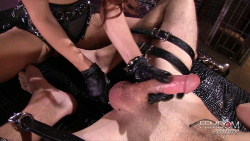 Kiki Vidas Blind Prostate Massage (24.01.2017) 1080p Femdom and Strapon