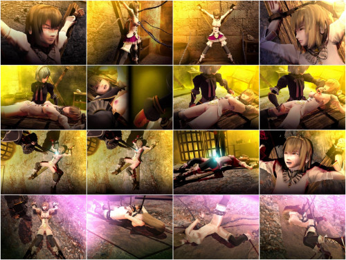 Princess Prison 3D Porn