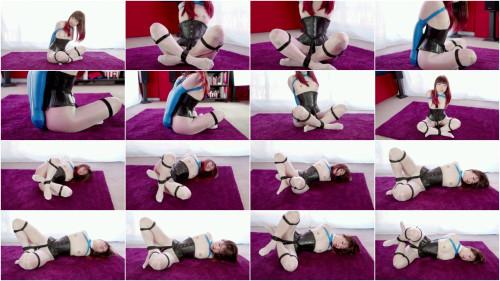 Restricted Senses -Sheer White Bodystocking