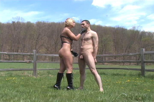 Ball Busting Delight Femdom and Strapon