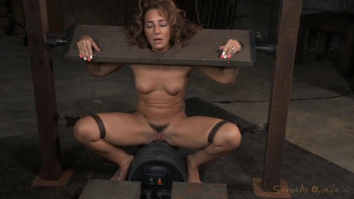 Toned Savannah Fox stocks stuck sybian massive multiple orgasms drooling deepthroat (2015) BDSM