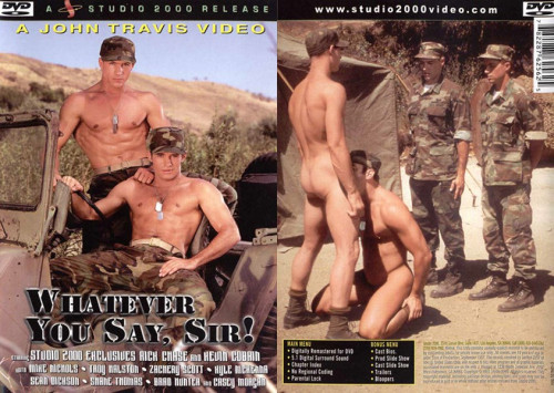 DOWNLOAD from FILESMONSTER: gay full length films Studio 2000 Whatever You Say, Sir!