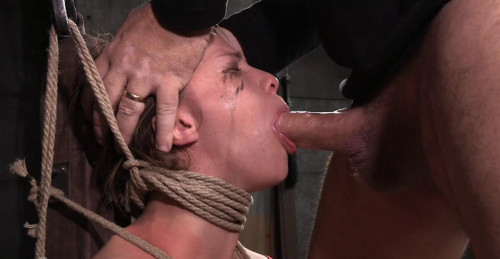 Five Foot High Girl Next Door Devilynne Tightly Tied In Strict Bondage BDSM