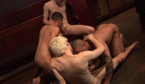 Young Twinks In Group Sex Gay Movie
