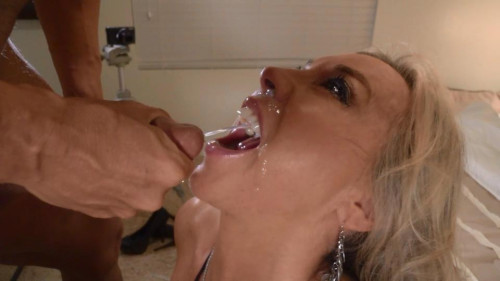 Wifey's swallow challenge