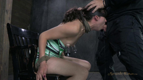SB - Cute 20yr old girl next door gets completely sex destroyed - Apr 29, 2013 - HD BDSM