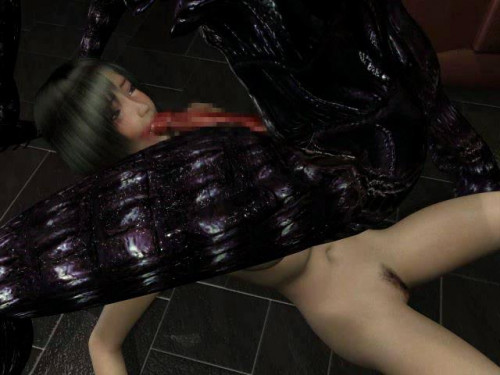 Sex with huge black monster 3D Porno