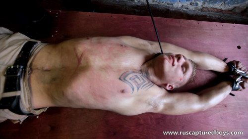 Gay BDSM Slava - The Prisoner of War - Final Part