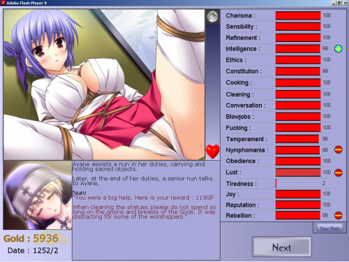 SlaveMaker 2 (H-Game) Anime and Hentai