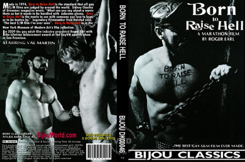 Born to Raise Hell (1974) DVDRip Gay BDSM