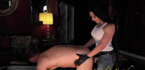 Femdom and Strapon Sensual Strap On Domination