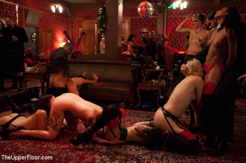 Christmas Part Two: BDSM slaves and anal whores celebrate the holidays BDSM