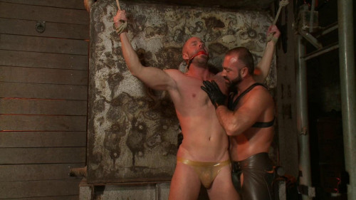 Josh West and Mitch Vaughn Gay BDSM