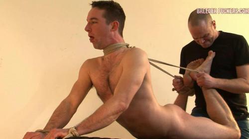 Gay BDSM Plug The Larynx - Shamus part 4