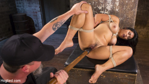 bdsm Brutal Hair Suspension, Grueling Bondage, Torment, and Orgasms