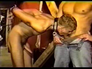 Gay BDSM Cock slavery