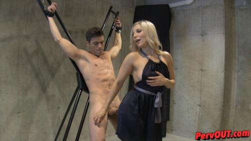 Femdom and Strapon Ashley Fires Edged Sex Slave Training (2015)