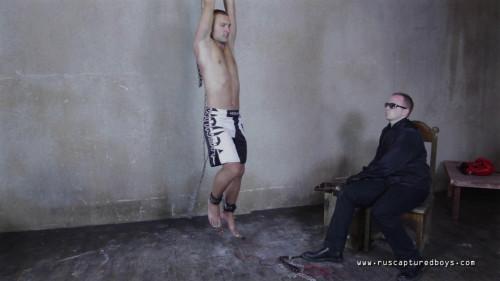 Gay BDSM RusCapturedBoys – Mixfighter Anatoliy - Part II