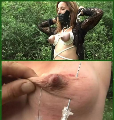 DOWNLOAD from FILESMONSTER:  KinkyCore Torture BDSM Extreme Torture  Pain in boobs.