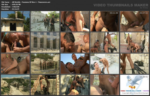 Passions Of War 4 - Maneuvers Gay Movie