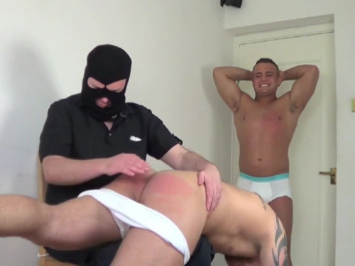Gay BDSM Paddle Dare - Part Two - Andy Lee and Jay