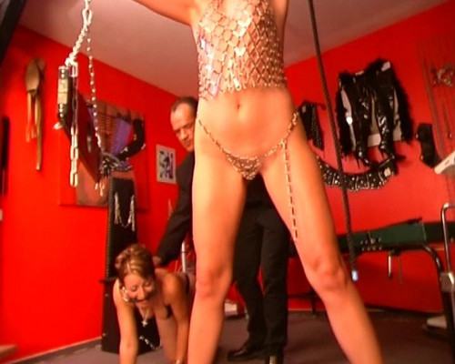 DOWNLOAD from FILESMONSTER:  BDSM Extreme Torture  [Small Talk] Zuchtsaue Scene #1