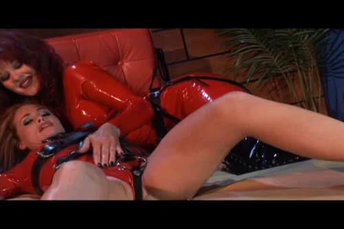 Latex Posession Femdom and Strapon