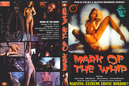 Erotic horror - The Mark Of The Whip - Teraz Films BDSM