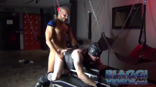 Gay BDSM Leather Mask(may 01,2014)