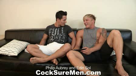 Philip Aubrey & Edin Sol Gay Clips
