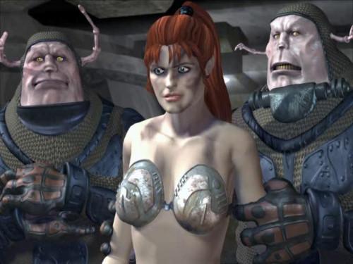 Zuma tales of a sexual gladiator 3D Porno