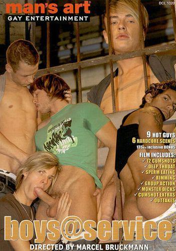 Mans Art - Boys Service Gay Movie