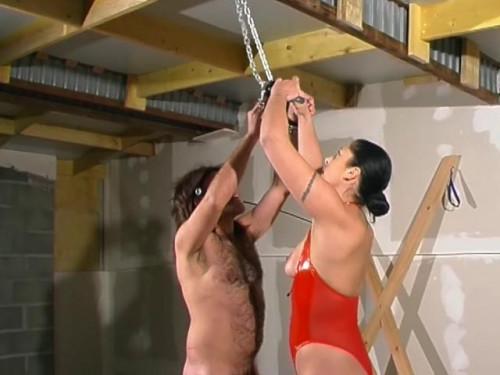 [Telsev] Angelique et ses soumis Scene #1 Femdom and Strapon