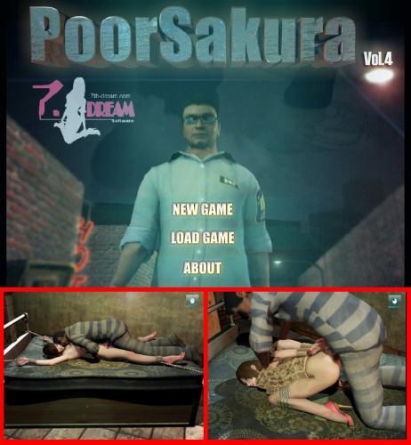 Poor Sakura vol.4 - Slave Porn Game Porn games
