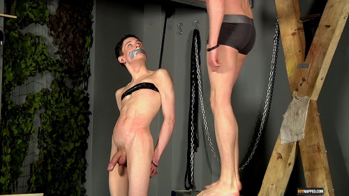 Gay BDSM Aaron Spanked And Fucked