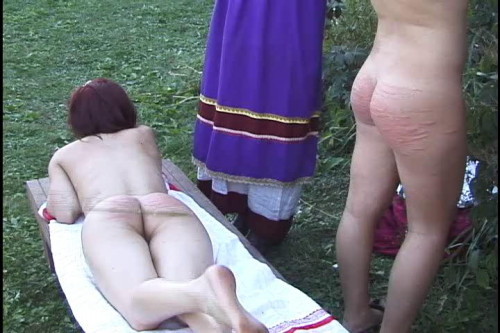bdsm Discipline in Russia 3 - Country Tales Punishment For Adultery