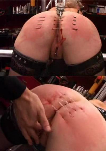 "Unusual desire to ""sew my ass"" BDSM"