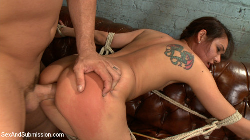 Little Nympho gets Kinky Sex Training from the Coach! BDSM