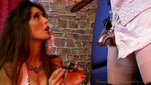 Femdom and Strapon DominatrixAnnabelle - Super Gold Collection. 28 Clips. Part 3.