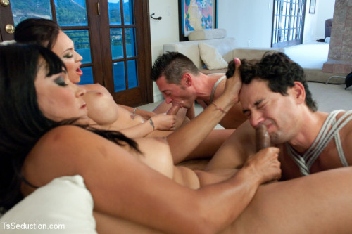 The Maltease Gems: Ts Mia Isabella and Vaniity in a Heist Feature film from TsSeduction.com SheMale